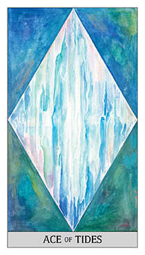 Ace of Water Tarot Card - Japaridze Tarot Deck
