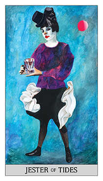 Page of Cups Tarot Card - Japaridze Tarot Deck