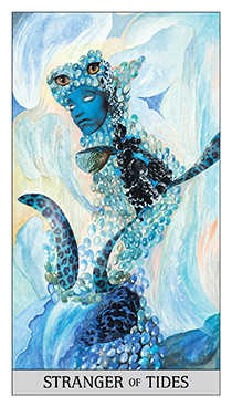 Knight of Water Tarot Card - Japaridze Tarot Deck