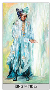 King of Ghosts Tarot Card - Japaridze Tarot Deck