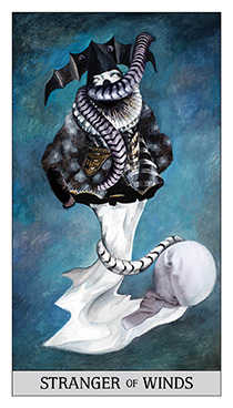 Cavalier of Swords Tarot Card - Japaridze Tarot Deck