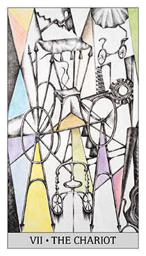 The Chariot Tarot Card - Japaridze Tarot Deck
