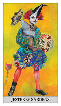 Page of Buffalo Tarot Card - Japaridze Tarot Deck