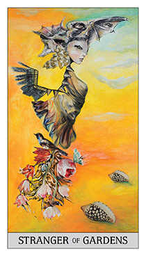 Knight of Buffalo Tarot Card - Japaridze Tarot Deck