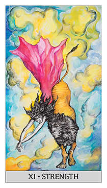 Strength Tarot Card - Japaridze Tarot Deck
