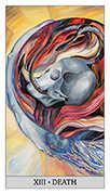 Death Tarot card in Japaridze Tarot deck