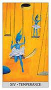 Temperance Tarot card in Japaridze Tarot deck