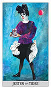 Page of Cups Tarot card in Japaridze Tarot deck