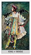 King of Swords Tarot card in Japaridze Tarot deck