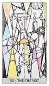 The Chariot Tarot card in Japaridze Tarot deck