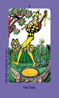 The Foolish Man Tarot Card - Jolanda Tarot Deck
