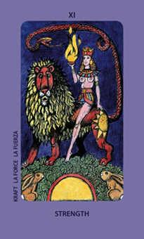 Justice Tarot Card - Jolanda Tarot Deck