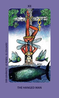 The Hanged Man Tarot Card - Jolanda Tarot Deck