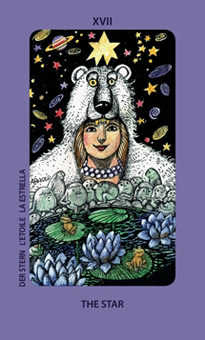 The Star Tarot Card - Jolanda Tarot Deck