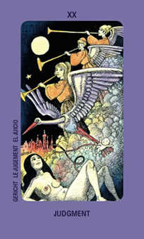 Judgment Tarot Card - Jolanda Tarot Deck