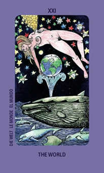 The World Tarot Card - Jolanda Tarot Deck