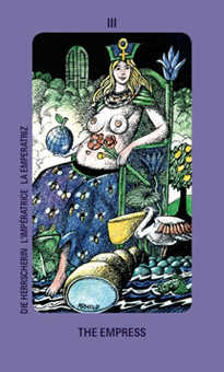 The Empress Tarot Card - Jolanda Tarot Deck