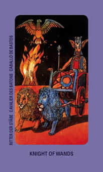 Brother of Fire Tarot Card - Jolanda Tarot Deck