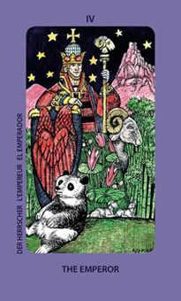 The Emperor Tarot Card - Jolanda Tarot Deck