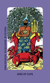 Father of Water Tarot Card - Jolanda Tarot Deck