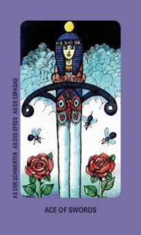 Ace of Swords Tarot Card - Jolanda Tarot Deck