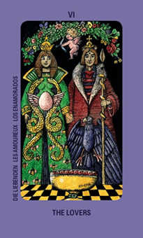 The Lovers Tarot Card - Jolanda Tarot Deck