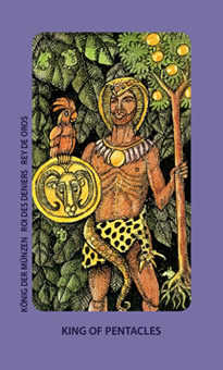 King of Pentacles Tarot Card - Jolanda Tarot Deck