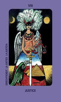 Strength Tarot Card - Jolanda Tarot Deck