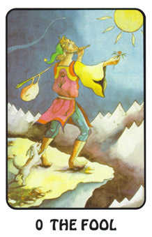 The Fool Tarot Card - Karma Tarot Deck