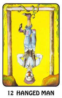 The Hanged Man Tarot Card - Karma Tarot Deck