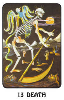 Death Tarot Card - Karma Tarot Deck