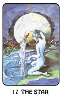 The Star Tarot Card - Karma Tarot Deck