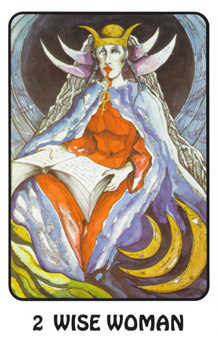 The High Priestess Tarot Card - Karma Tarot Deck