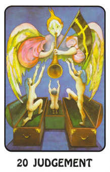 The Judgment Tarot Card - Karma Tarot Deck