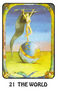 The World Tarot Card - Karma Tarot Deck
