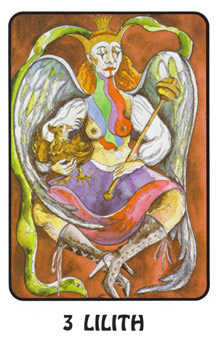 The Empress Tarot Card - Karma Tarot Deck