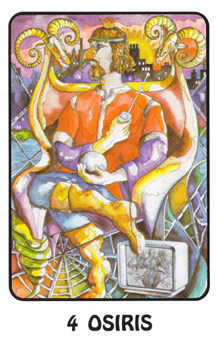 The Emperor Tarot Card - Karma Tarot Deck
