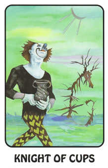 Cavalier of Cups Tarot Card - Karma Tarot Deck