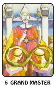 The High Priest Tarot Card - Karma Tarot Deck