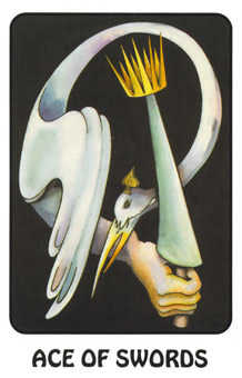 Ace of Arrows Tarot Card - Karma Tarot Deck
