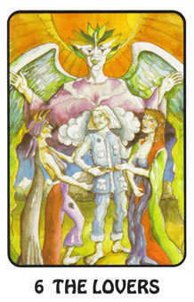 The Lovers Tarot Card - Karma Tarot Deck