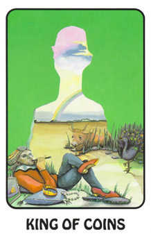 Father of Earth Tarot Card - Karma Tarot Deck