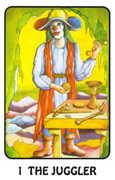 The Magician Tarot card in Karma deck