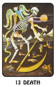 Death Tarot card in Karma deck