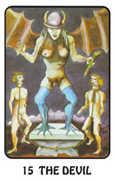 The Devil Tarot card in Karma deck