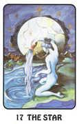 The Star Tarot card in Karma deck
