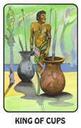 King of Cups Tarot card in Karma deck