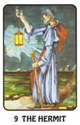 The Hermit Tarot card in Karma deck