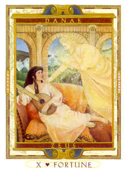 Wheel of Fortune Tarot Card - Lovers Path Tarot Deck