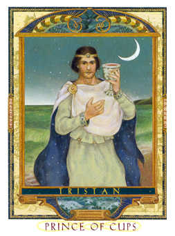 Cavalier of Cups Tarot Card - Lovers Path Tarot Deck